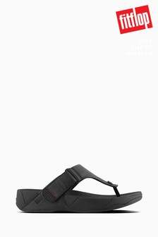 Fitflop™ Black Trakk II Leather