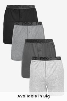Grey Loose Fit Four Pack