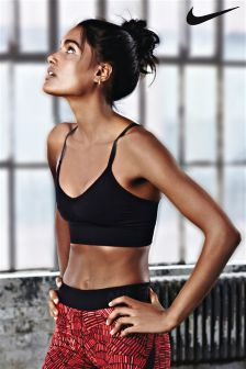 Nike Black Sculpture Strappy Bra