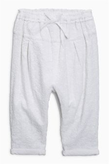 Broderie Trousers (3mths-6yrs)