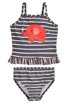 Elephant Appliqué Tankini (3mths-6yrs)