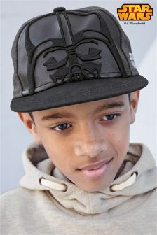 Black Star Wars™ Cap (Older Boys)