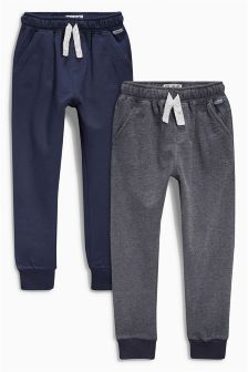 Blue/Navy Joggers Two Pack (3-16yrs)