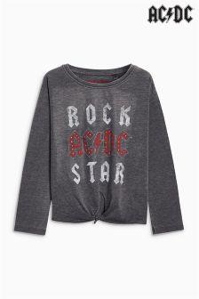 AC/DC Rockstar Long Sleeve Top (3-16yrs)