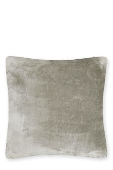 Glossy Faux Fur Cushion