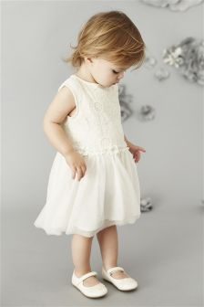 Floral Lace Party Dress (3mths-6yrs)