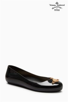 Vivienne Westwood By Melissa Space Black Love Orb Pump