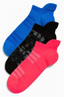 Geo Pattern Trainer Socks Three Pack