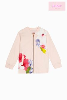 Baker By Ted Baker All Over Printed Floral Bomber Jacket