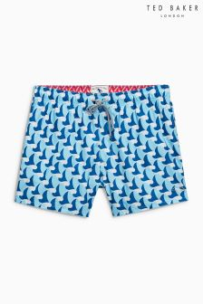 Ted Baker Blue Seamen Swim Short