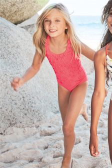 Corsage Swimsuit (3-16yrs)