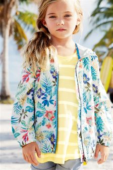 Multi Tropical Print Cagoule (3-16yrs)