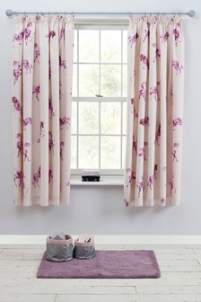 Magical Unicorns Pencil Pleat Blackout Curtains
