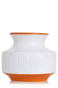 Embossed Ceramic Vase