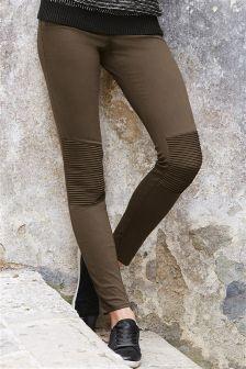 Biker Skinny Trousers