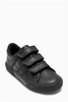 Triple Strap Shoes (Older Boys)