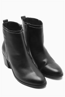 Block Heeled Boots