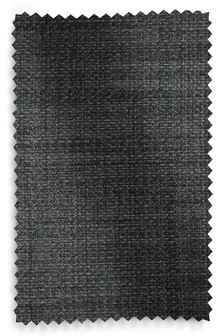 Simple Contemporary Charcoal Upholstery Fabric Sample