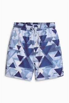 Geo Swim Shorts (3-16yrs)