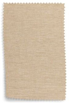 Textured Weave Light Natural Upholstery Fabric Sample