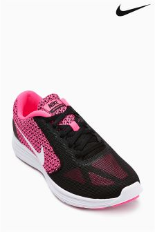 Pink Nike Revolution 3