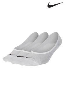 Nike White Footsies Three Pack