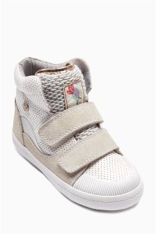 White Hi Tops (Younger Girls)