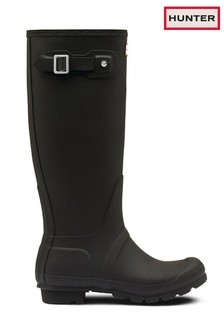 Hunter Original Matte Black Tall Welly