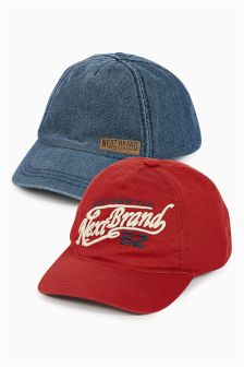 Caps Two Pack (Older Boys)