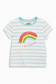 Stripe Rainbow T-Shirt (3mths-6yrs)