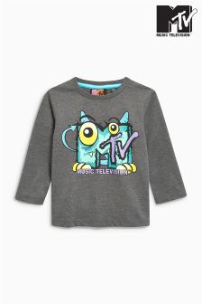 Long Sleeve MTV Monster T-Shirt (3mths-6yrs)