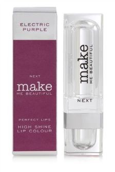 Make Me Beautiful High Shine Purple Lipstick