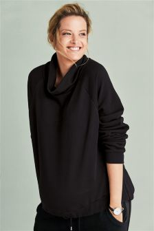 Maternity Funnel Neck Sweater