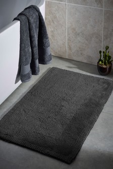 Hygro Cotton Reversible Bath Mats
