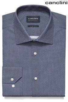 Signature Canclini Printed Shirt