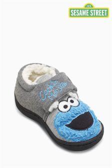 Red/Blue Sesame Street Slippers