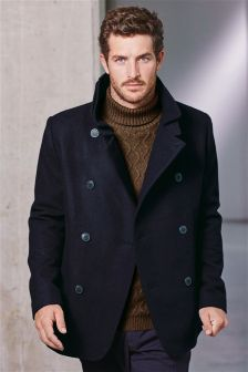 Wool Rich Pea Coat
