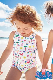 Multi Peppa Pig™ Print Swimsuit (3mths-6yrs)