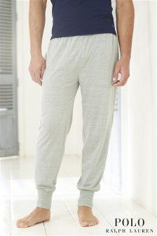 Light Grey Ralph Lauren Cuffed Lounge Pants