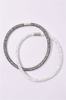 Mesh Necklaces Two Pack