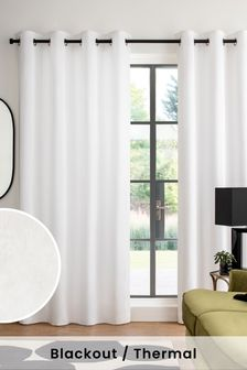 Cotton Studio Eyelet Blackout Curtains