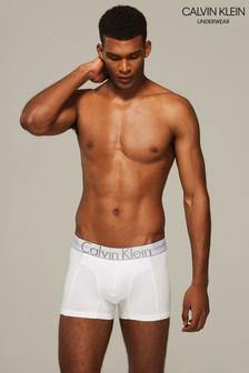 Calvin Klein White Logo Trunk