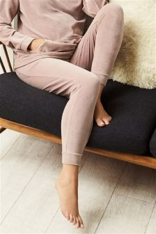 Maternity Velour Lounge Bottoms