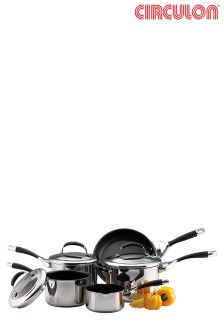 5 Piece Circulon® Elite Professional Pan Set