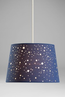 Lamp shades easy fit light shades next official site easy fit cut out star shade aloadofball Choice Image