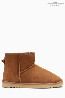 Signature Luxury Suede Boots