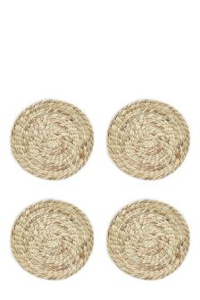 Set Of 4 Water Hyacinth Placemats