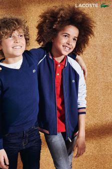 Lacoste® Navy Varsity Jacket