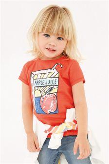 Apple T-Shirt (3mths-6yrs)