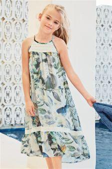 Floral Print Maxi Dress (3-16yrs)